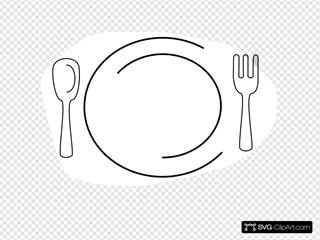 Dinner clipart plate knife fork, Dinner plate knife fork Transparent FREE  for download on WebStockReview 2020