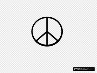 Peace Symbol (transparent Fix)