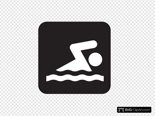 Swimming Black
