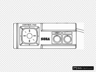 Panamag Sega Master System Controller Diagram