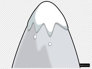 Kliponius Mountain In A Cartoon Style