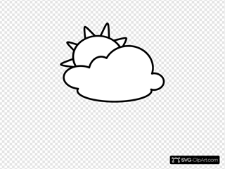 Cloudy - Outline