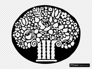 Ornamental Flower Vase