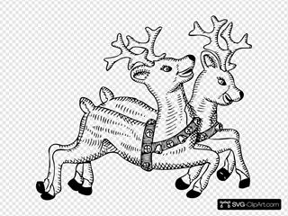 Reindeer SVG Clipart