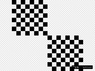 Checkered Square Optical Illusion