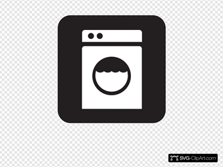 Laundry Laundomat Black