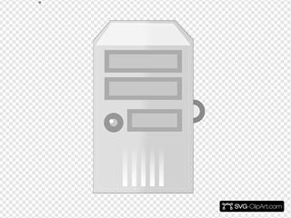 Network Server Black Background