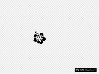Hibiscus Simple Black