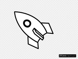 Black & White Rocket