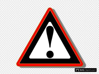 Red Black Warning