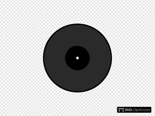 Disc SVG Clipart