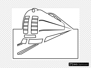 Train Outline