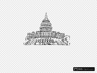 Us Capitol Building Inkpen Style