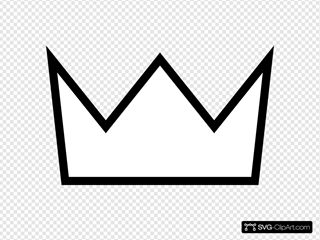Crown Outline White