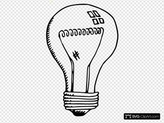 Incandescent Light Bulb Clipart