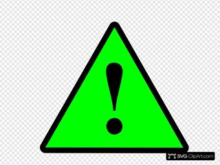 Black Green Black Warning 1