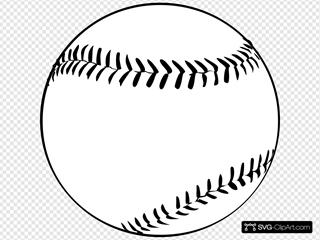 Baseball (b And W)