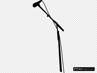 Microphone In Black By Ocal