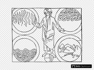 Cibo God And The Four Elements