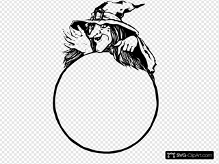 Witch With Crystal Ball