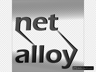 Net Alloy SVG Cliparts
