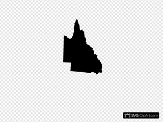 Australian Maps SVG Clipart