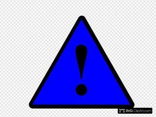 Black Blue Black Warning 1