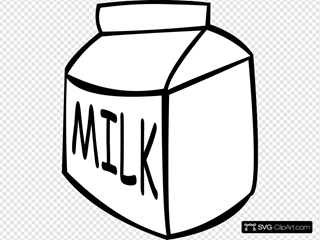 Milk (b And W)