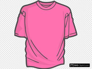 Blank T Shirt SVG Clipart