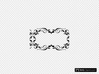 Swirl Dmask Monogram 2