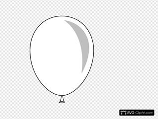 New Outline Balloon