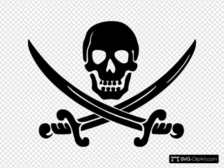 Clue Calico Jack Pirate Logo