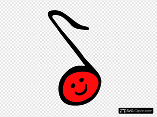Happy Eighth Note