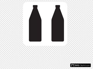 Two Soda Bottles