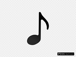 Eighth Note (stem Facing Up)
