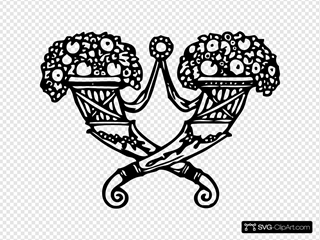 Flowers On Ornament