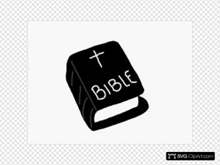 Bible Black And White