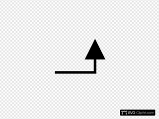 Back Up Arrow Ltr Without Text