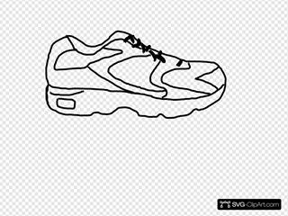 Running Shoe With Sensor