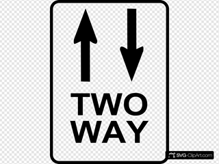 Leomarc Sign Two Way