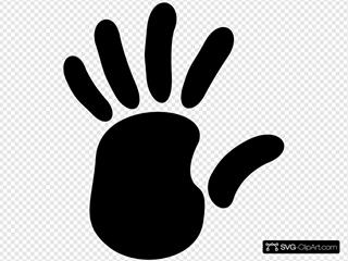 Left Hand Print