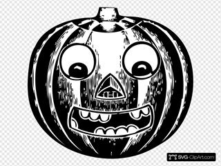 Jack O Lantern With Eyes
