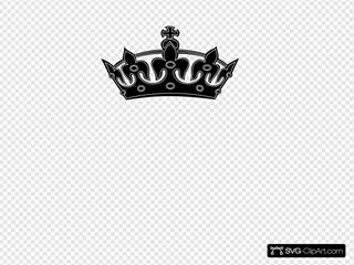 Black White Crown