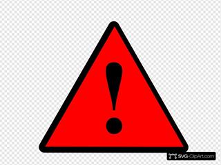 Black Red Black Warning 1
