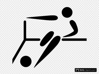 Olympic Sports Futsal Pictogram