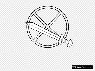 Jonadab Round Sword And Shield