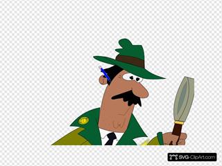 Detective Clipart