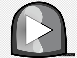 Black Play Button