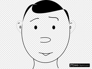 Human Face Outline