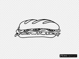 Sandwich One Bw